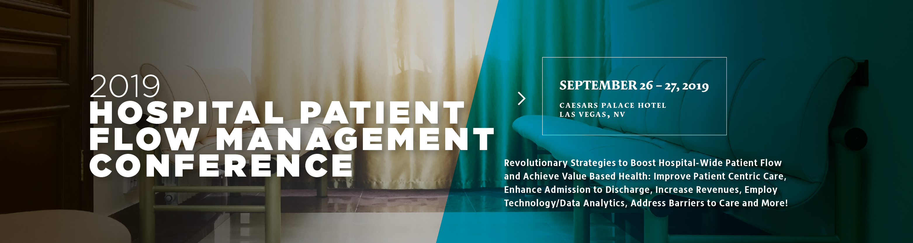2019 Hospital Patient Flow Management Conference