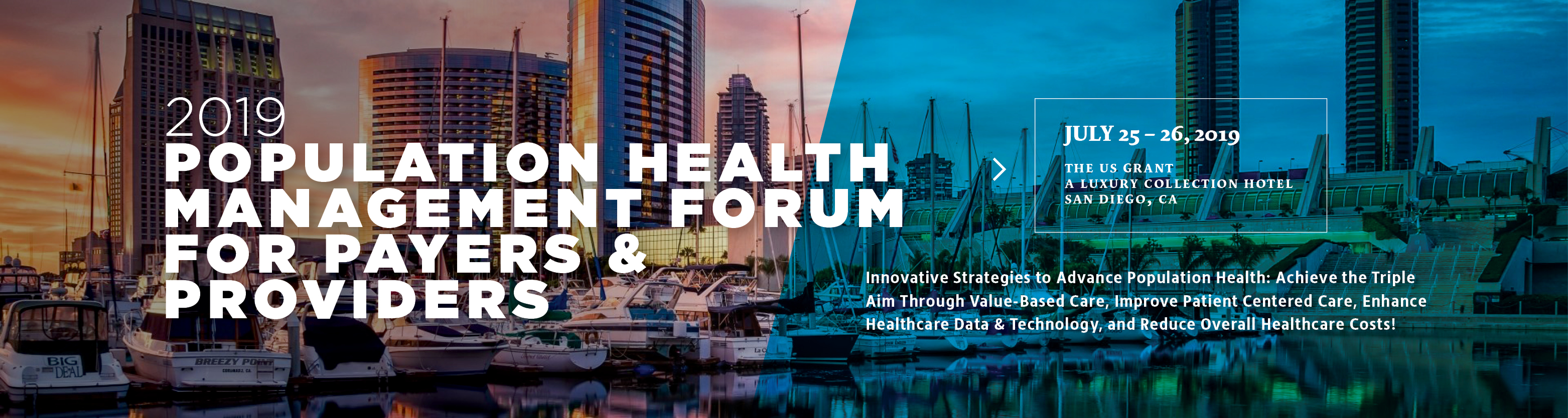 2019 Population Health Management Forum for Payers & Providers
